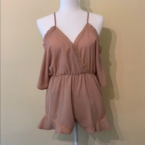 Dusty Rose Romper
